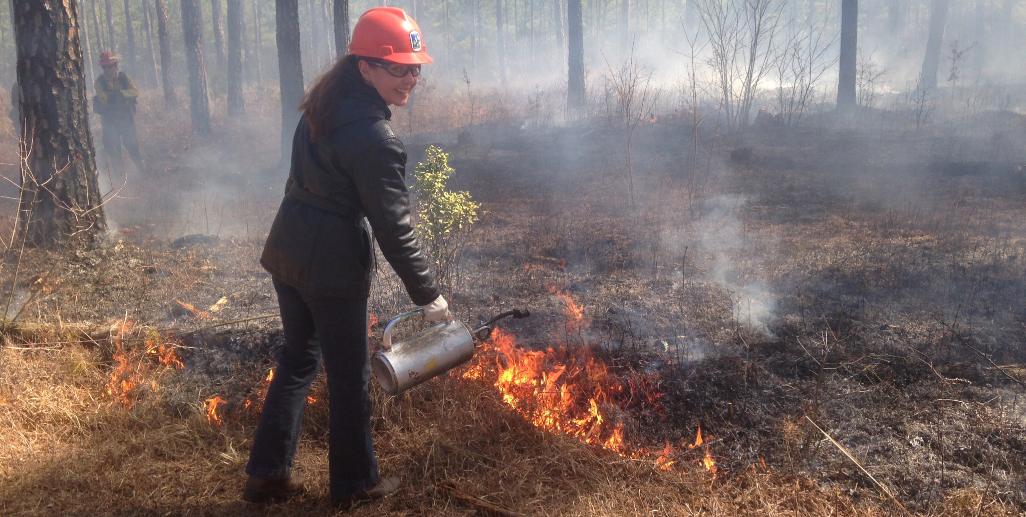 VFLE Programs teach landowners how to use tools such as prescribed fire to manage their woodlands.